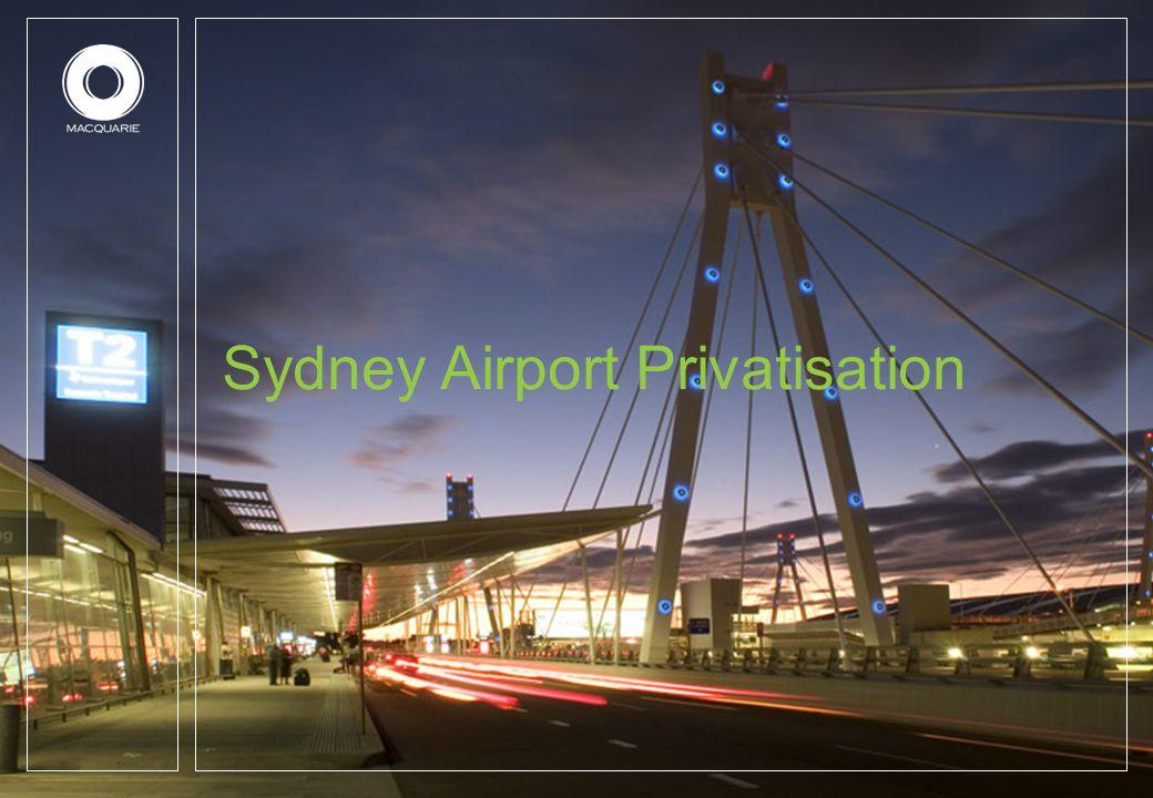 Sydney Airport Privatisation
