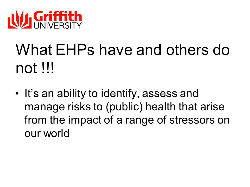 What EHPs have and others do not !!.