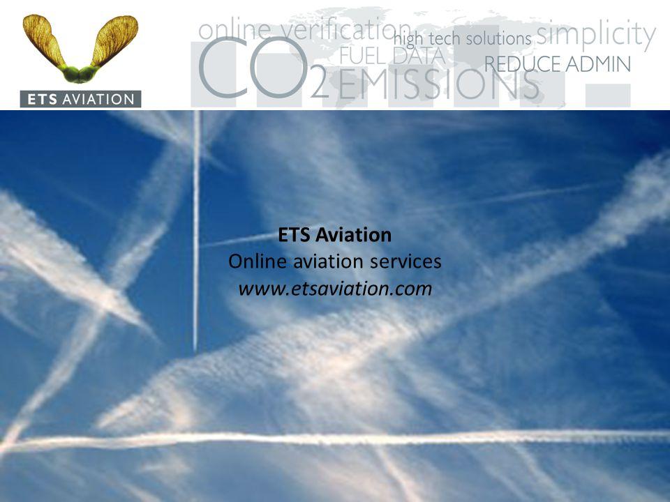 ETS Aviation Online aviation services www.etsaviation.com