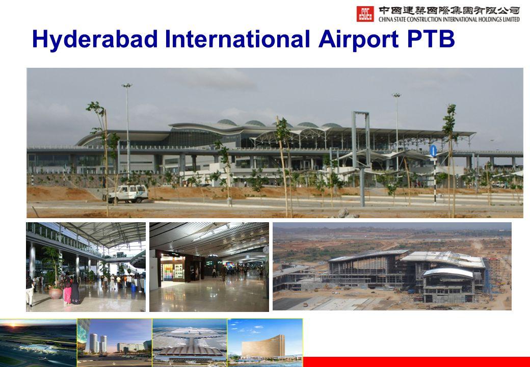 Hyderabad International Airport PTB