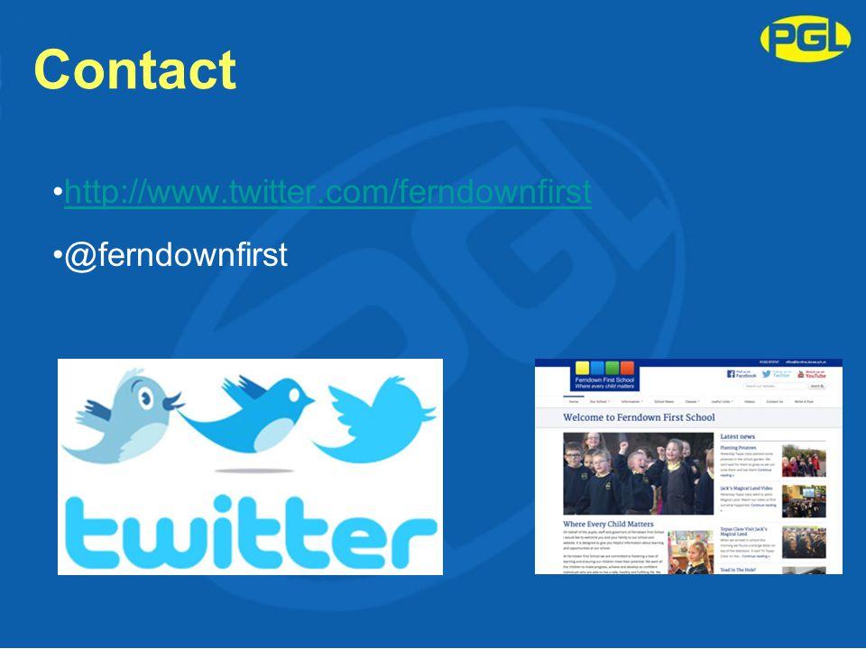 Contact http://www.twitter.com/ferndownfirst @ferndownfirst