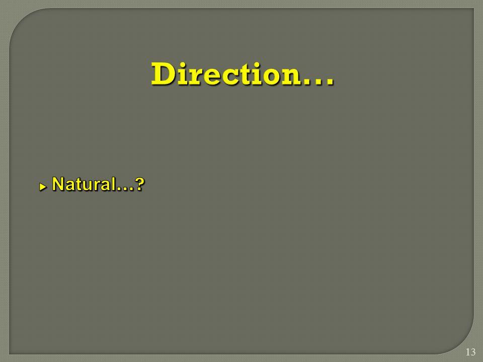 13 Direction...