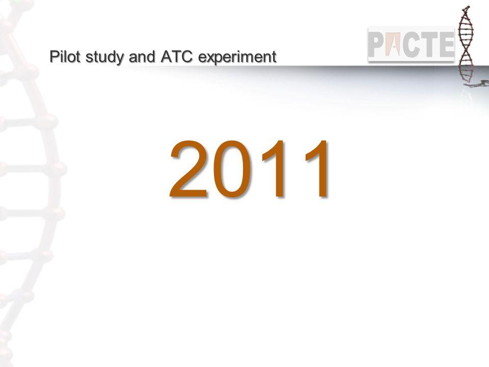 Pilot study and ATC experiment 2011