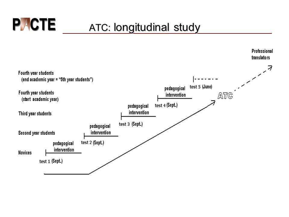 ATC: longitudinal study