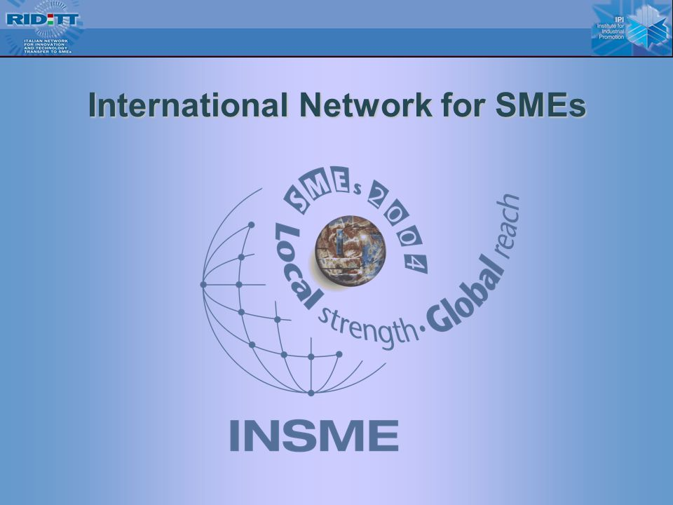14 International Network for SMEs