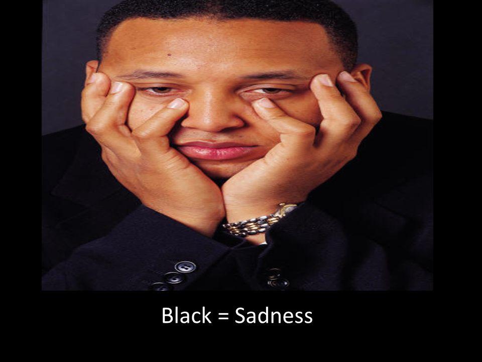 Black = Sadness