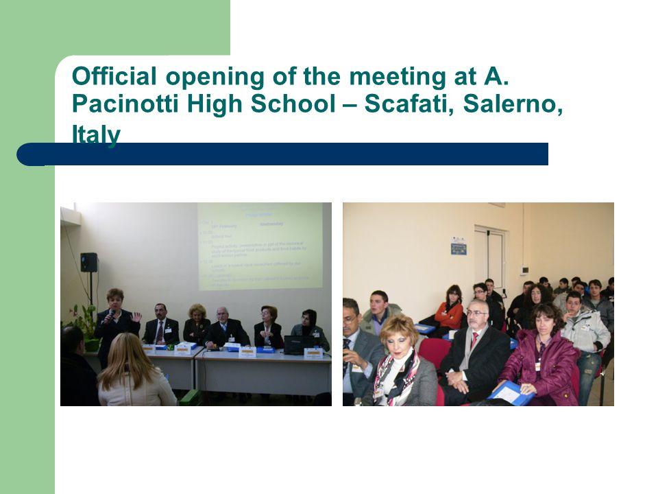Meeting the Mayor of Scafati