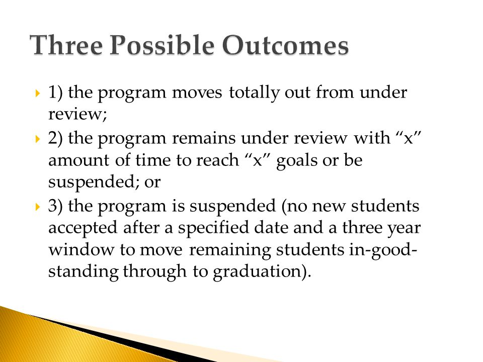 o Streamline curriculum: Fall/Spring 2014-15: o Implement recruitment strategies with Admissions: Fall/Spring 2014-15 o Personnel decisions implemented: Dec.