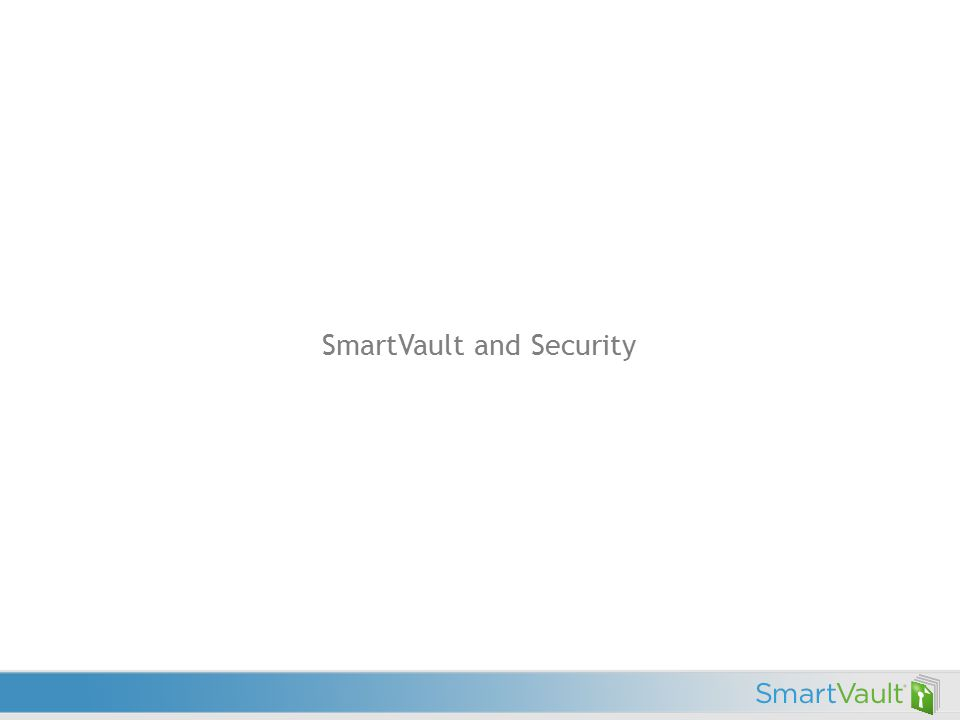 SmartVault and Security