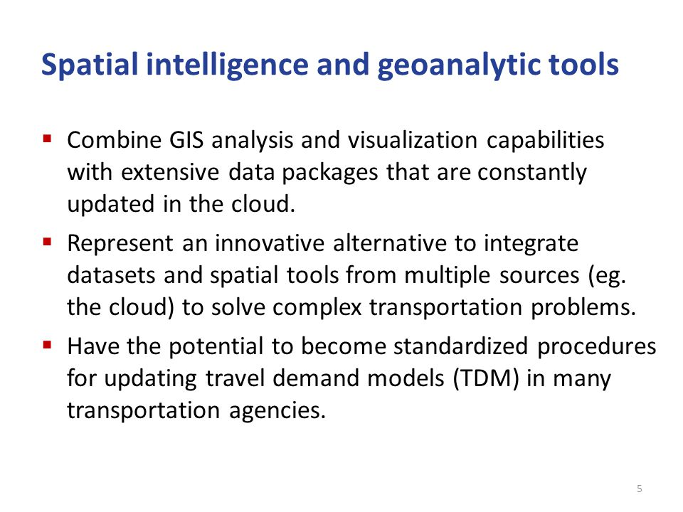 Spatial Intelligence and Geoanalytic Tools: Main Interface of Esri Business Analyst (BA) 6