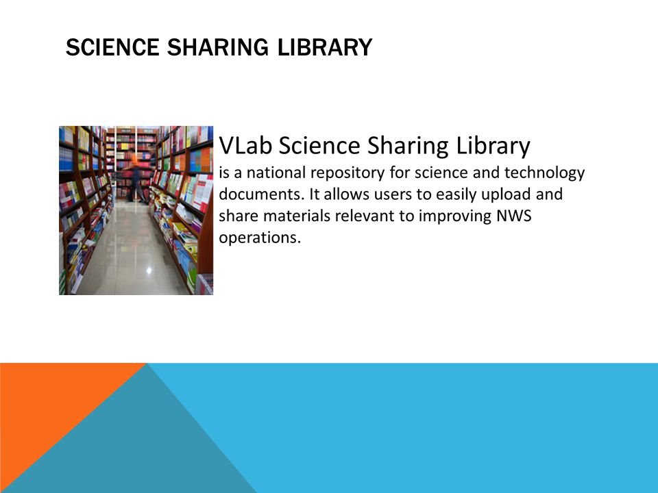 SCIENCE SHARING LIBRARY