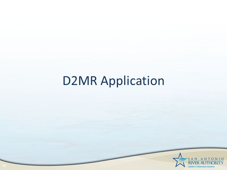 D2MR Application 11
