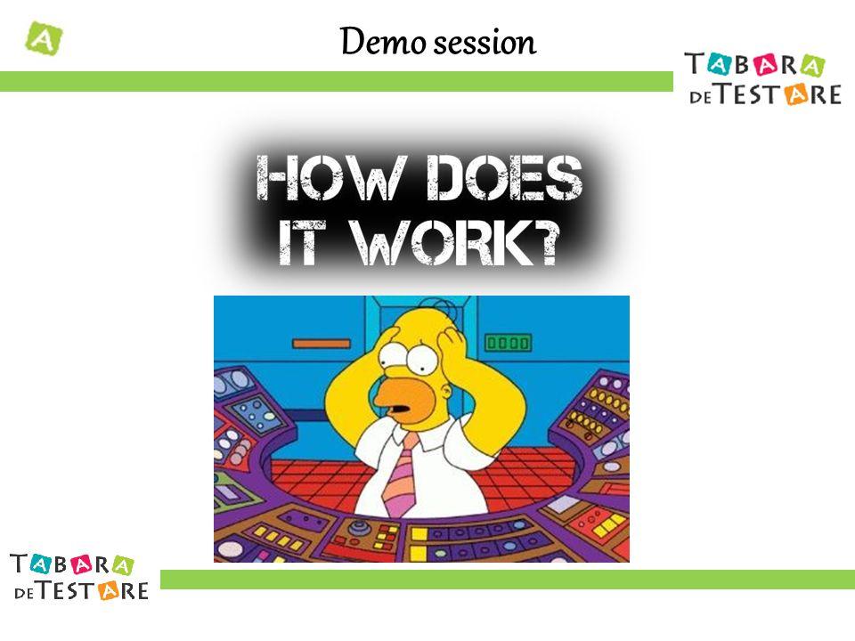 Demo session