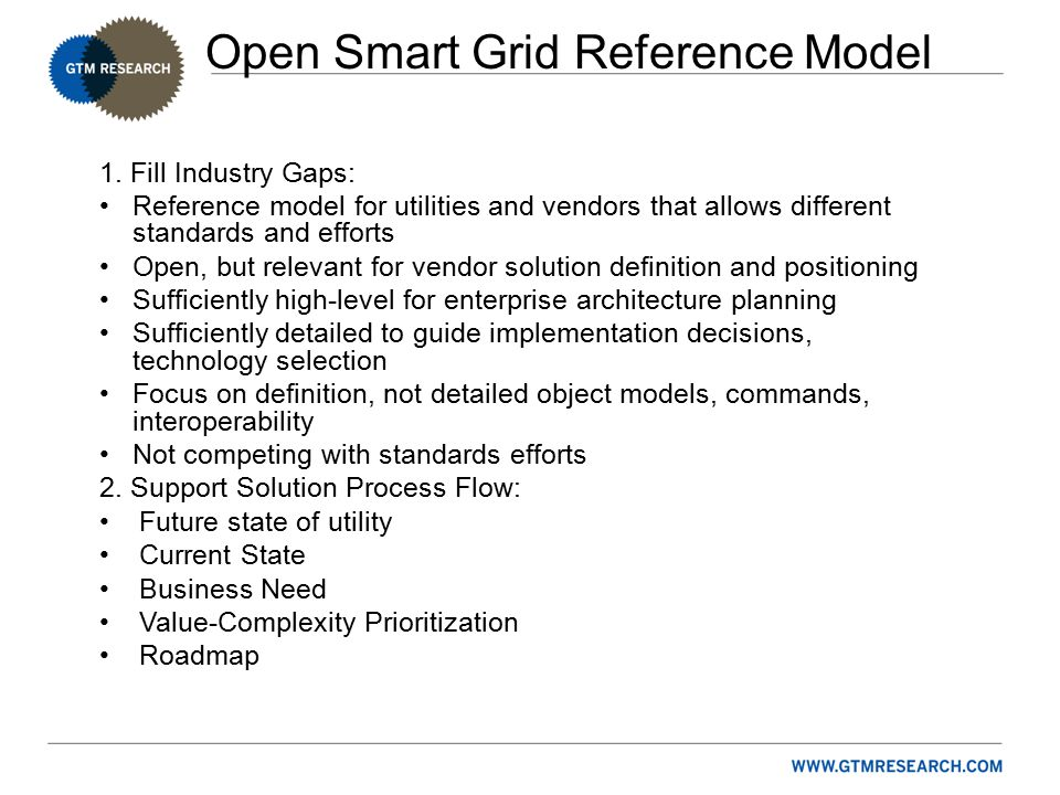 Open Smart Grid Reference Model 1.