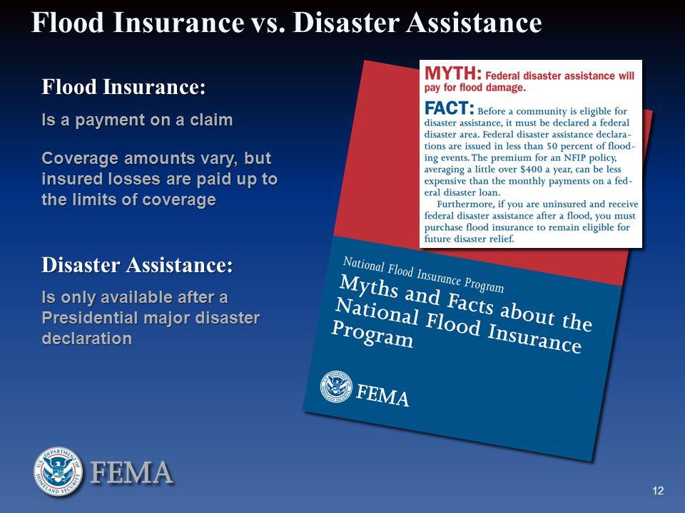 Flood Insurance vs.