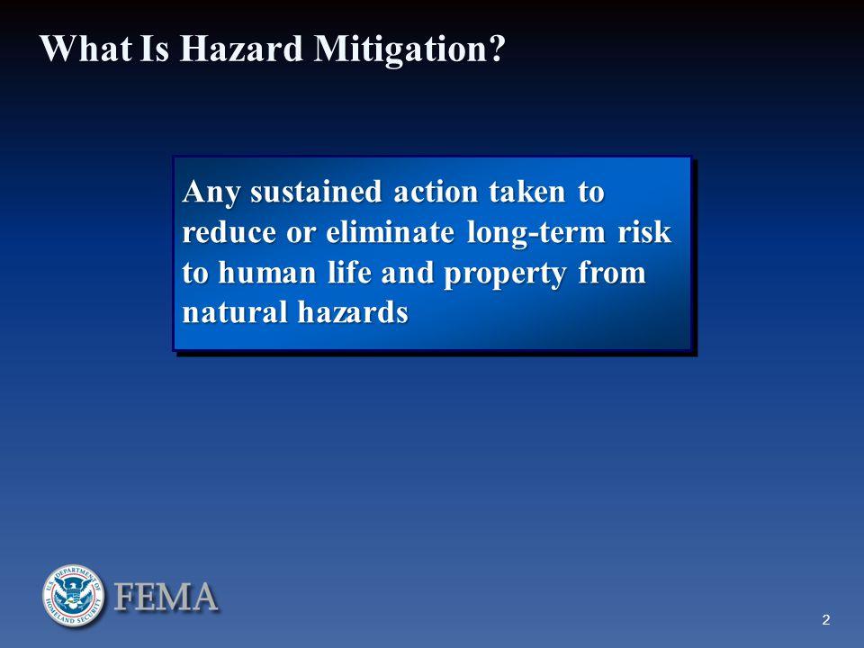 What Is Hazard Mitigation.