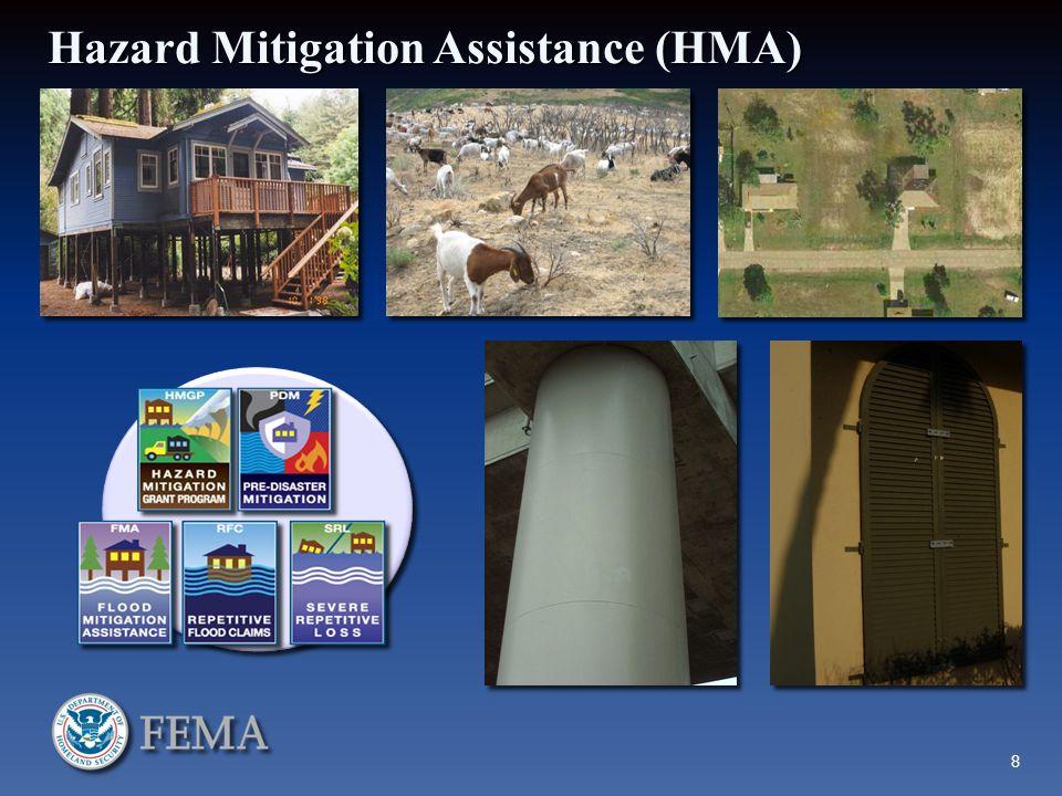 Hazard Mitigation Assistance (HMA) 8