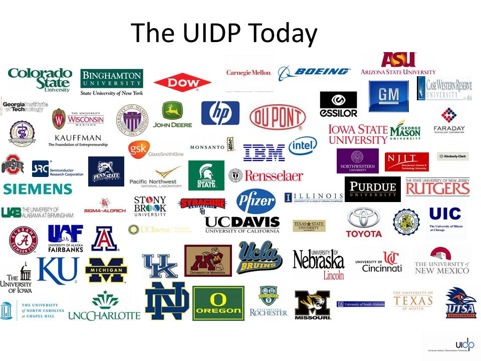 The UIDP Today