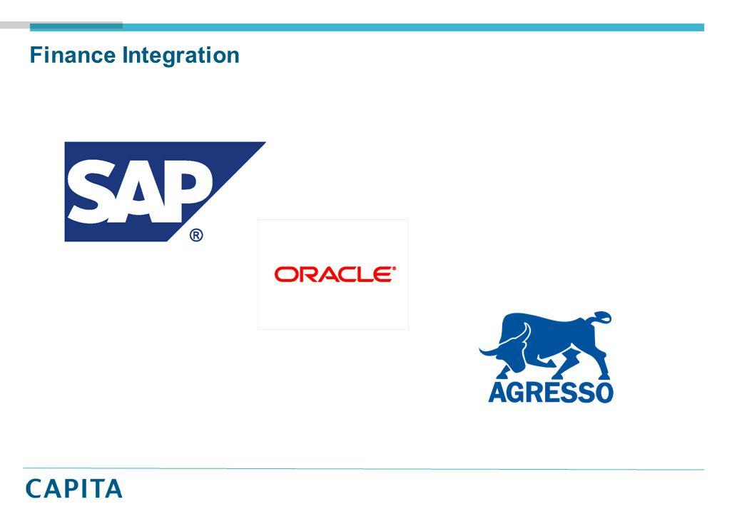 Finance Integration
