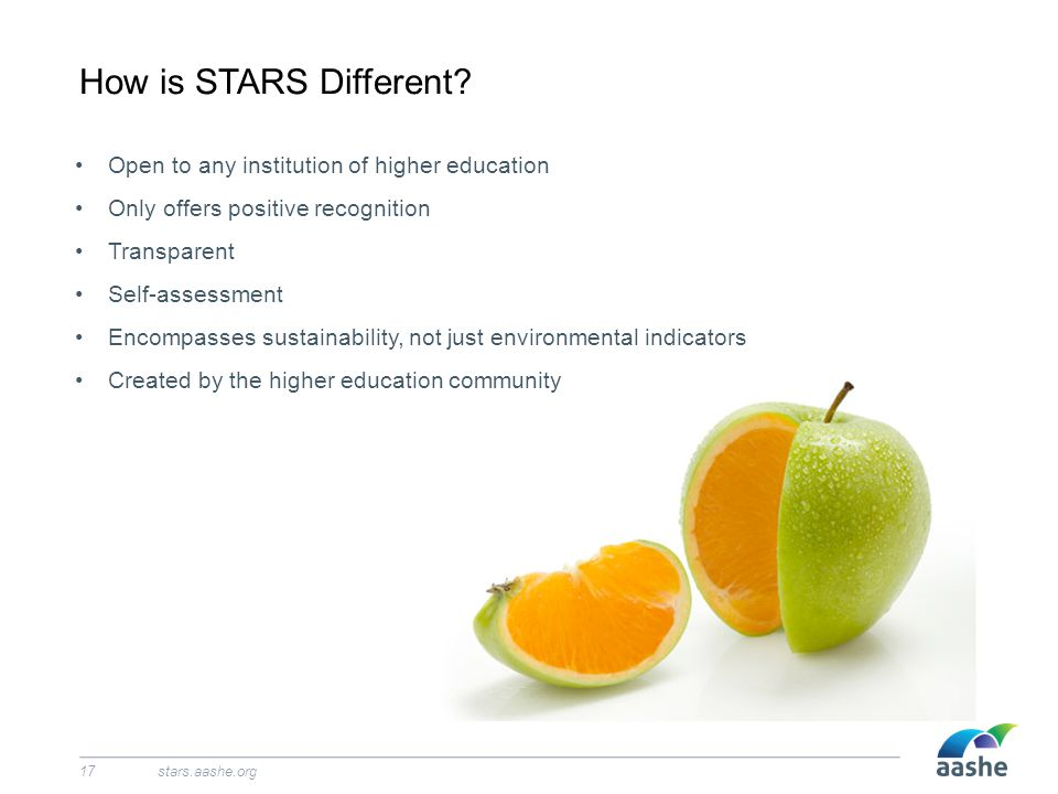 How is STARS Different.