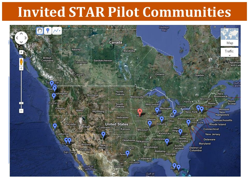 Invited STAR Pilot Communities