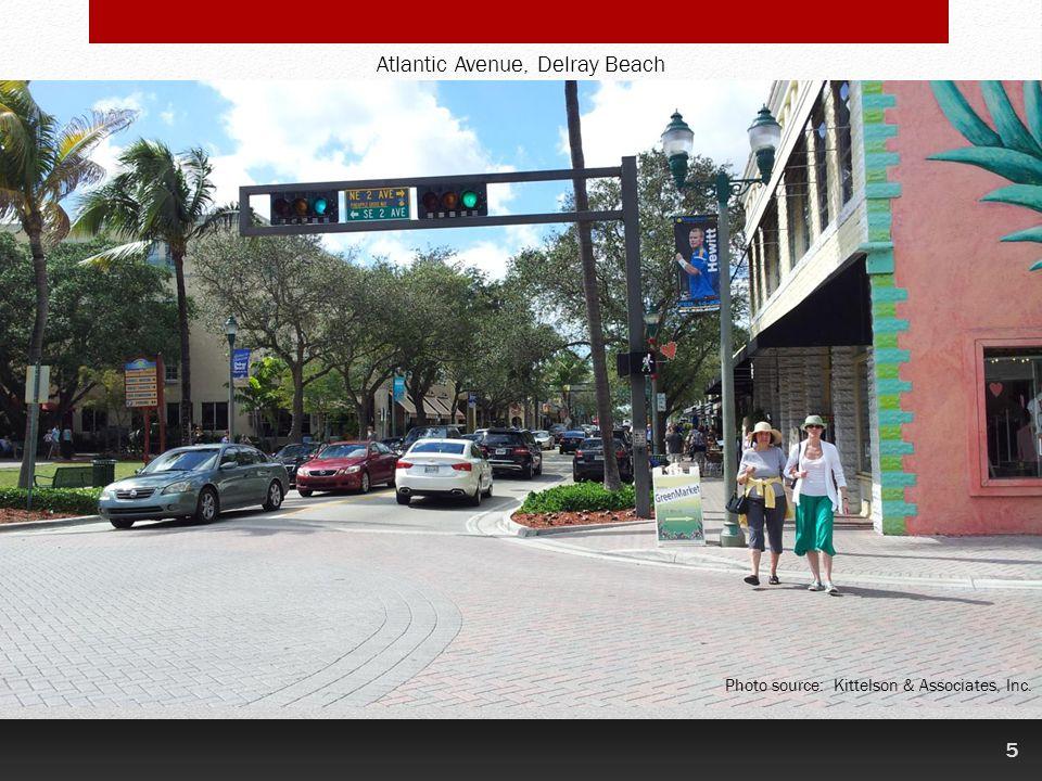 5 Atlantic Avenue, Delray Beach Photo source: Kittelson & Associates, Inc.