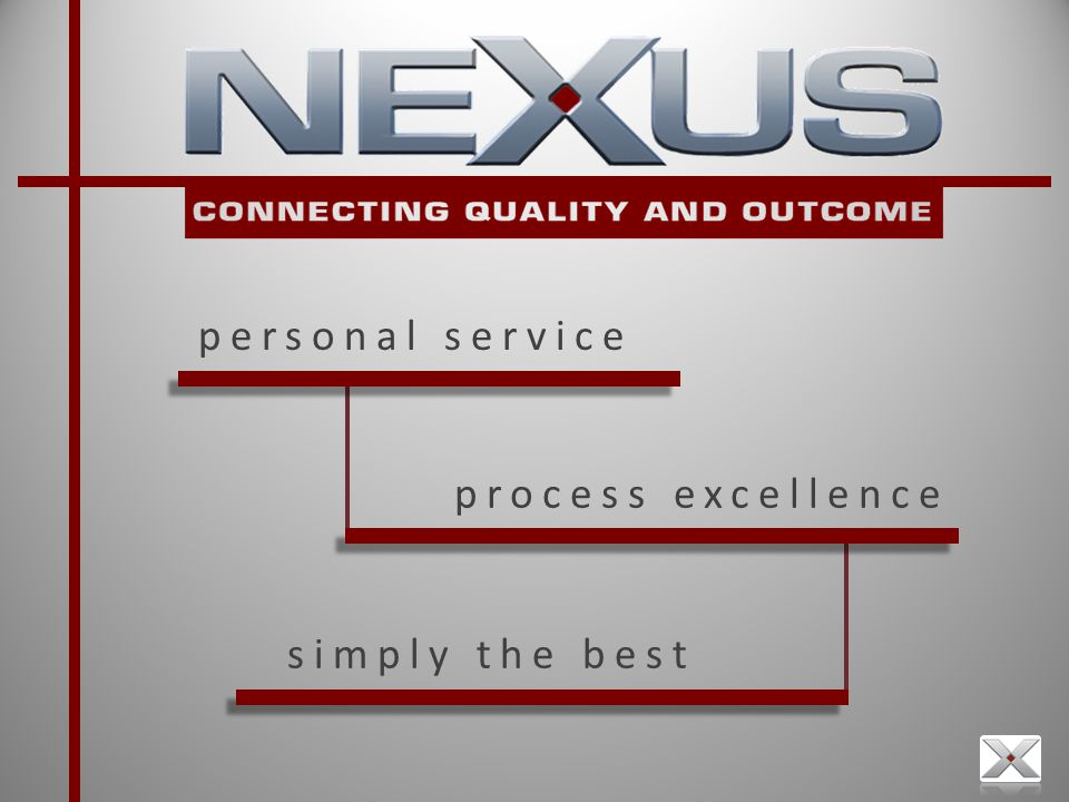 process excellence personal service simply the best