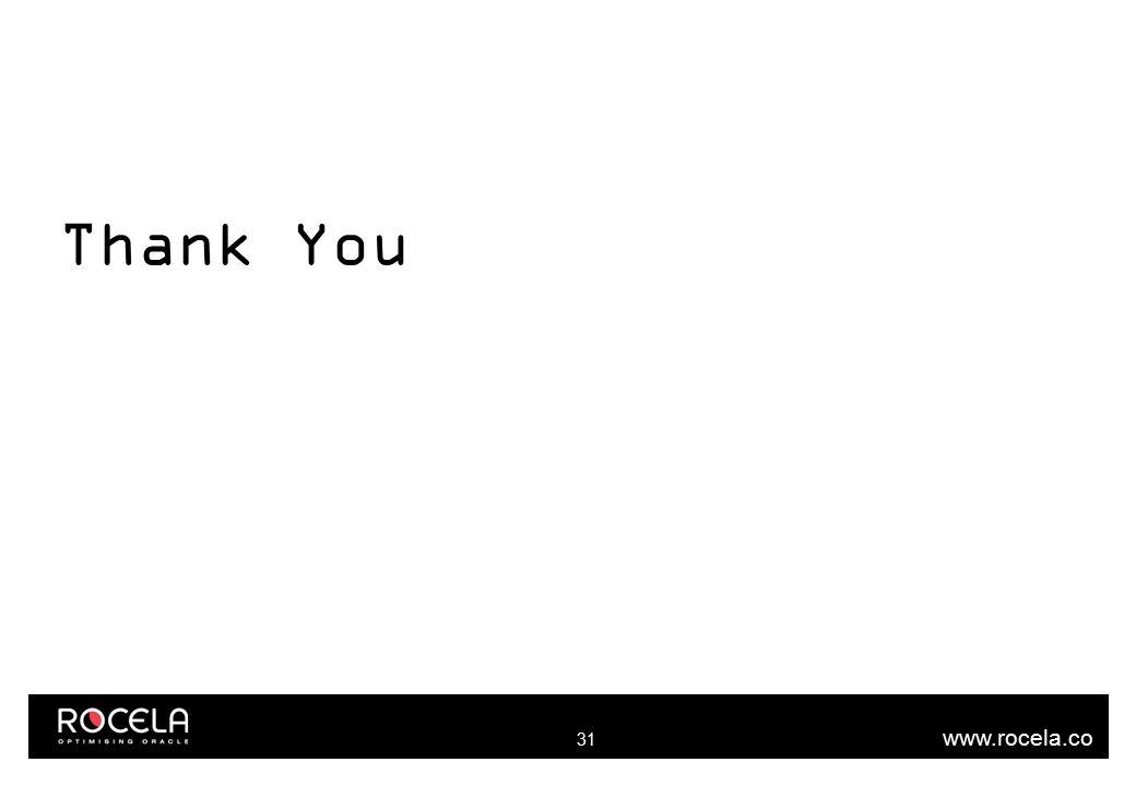 www.rocela.co m Thank You 31