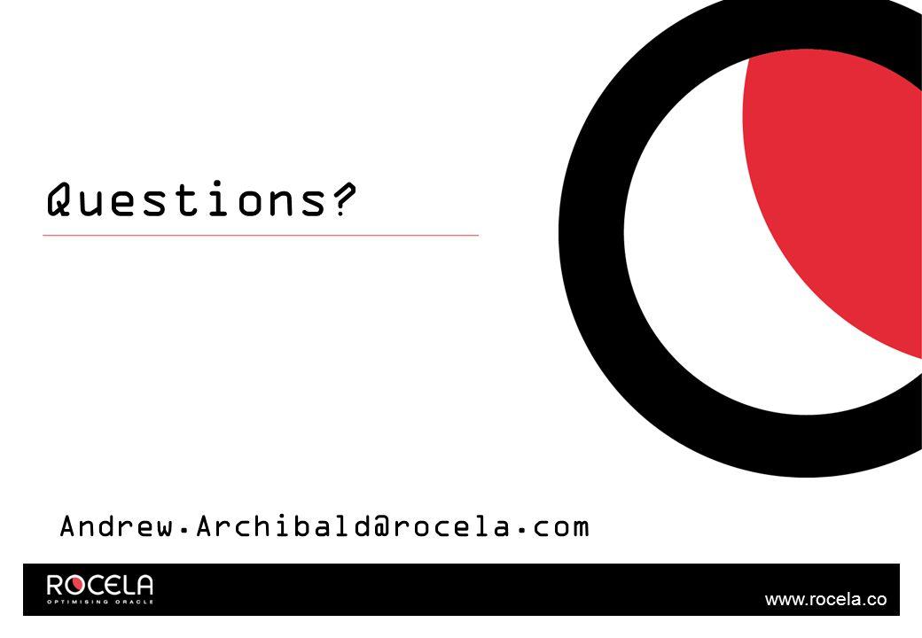 www.rocela.co m Questions Andrew.Archibald@rocela.com
