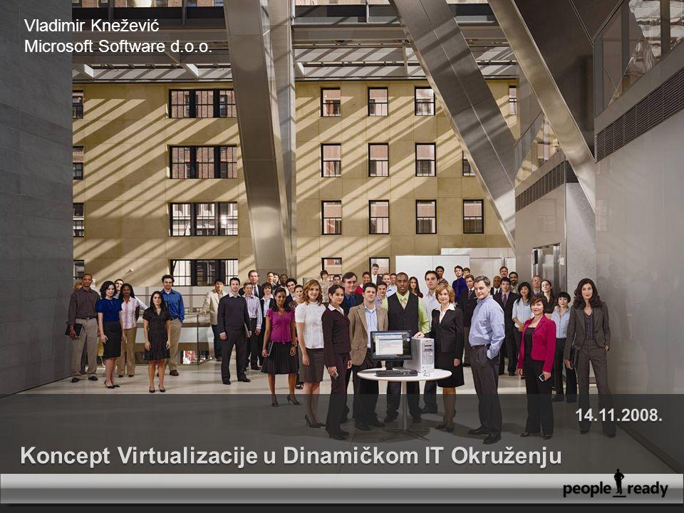 1 Vladimir Knežević Microsoft Software d.o.o.