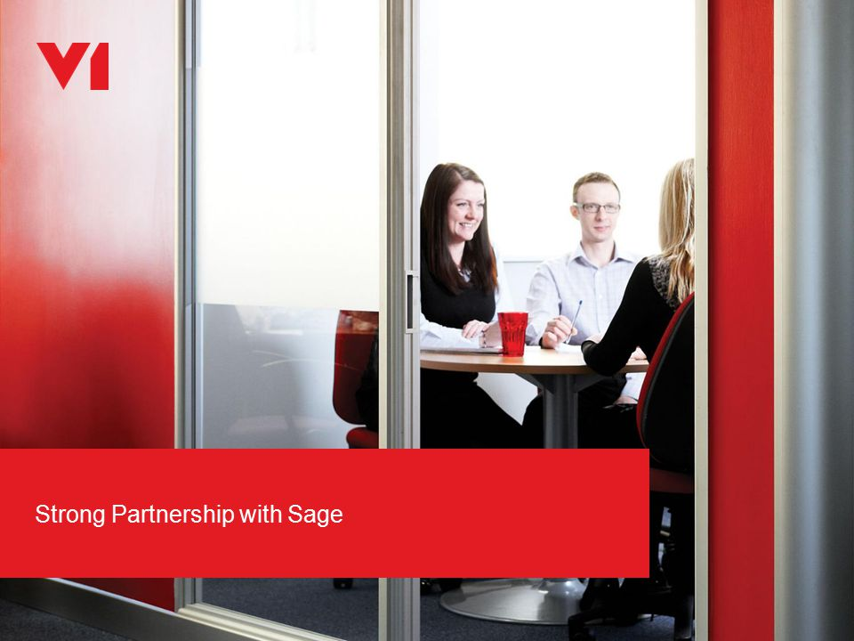 Strong Partnership with Sage