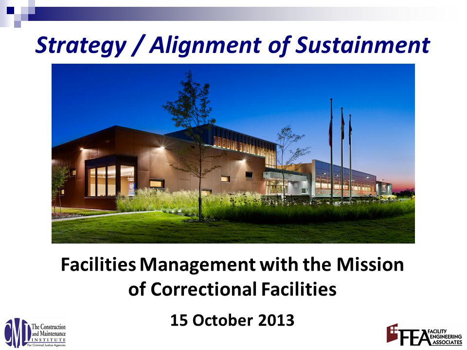 Industry Perspective of Facility Management