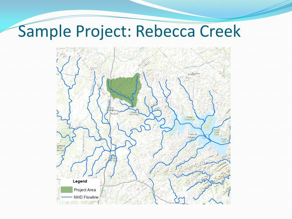 Sample Project: Rebecca Creek