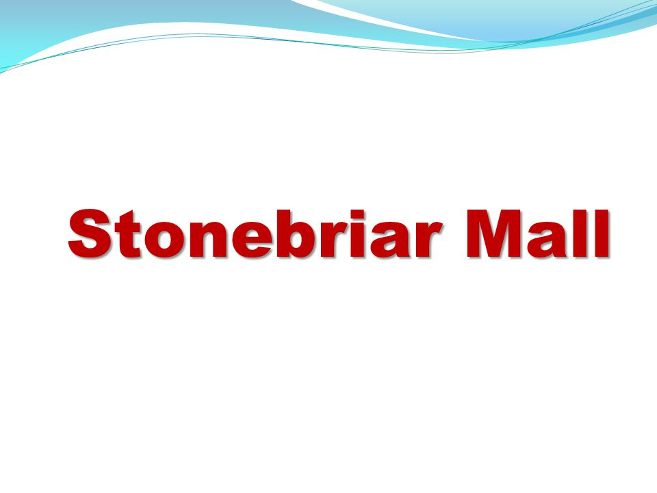 Stonebriar Centre is a shopping mall located at the intersection of (Preston Road) and SH 121 in Frisco, Texas (USA).