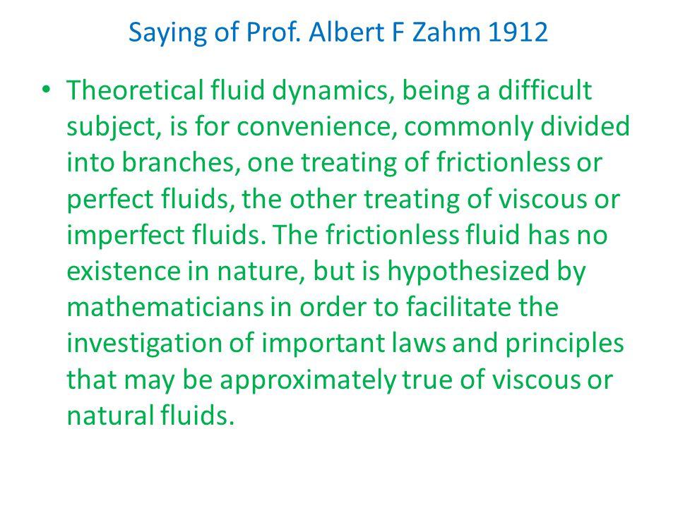 Saying of Prof.
