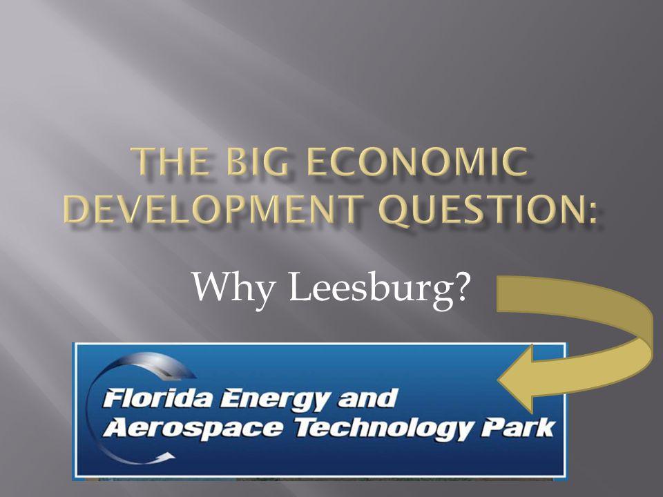Why Leesburg?