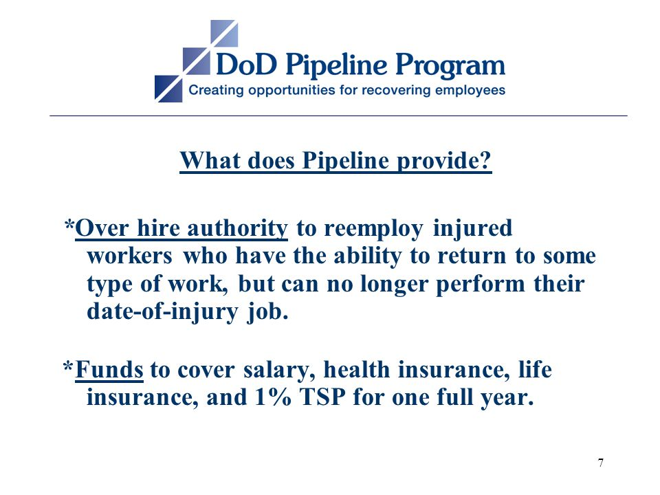 7 What does Pipeline provide.