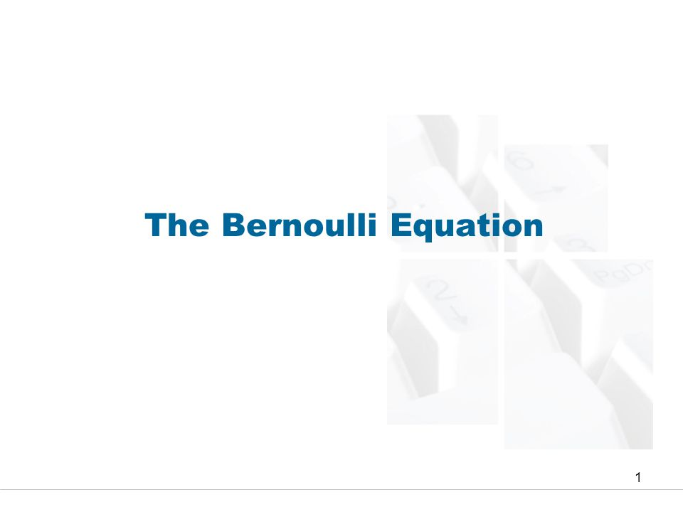 Faculty of Engineering and Technical Studies 12 Energy and Hydraulic Grade Lines In this section, we will look into all terms in the Bernoulli equations, Eq.