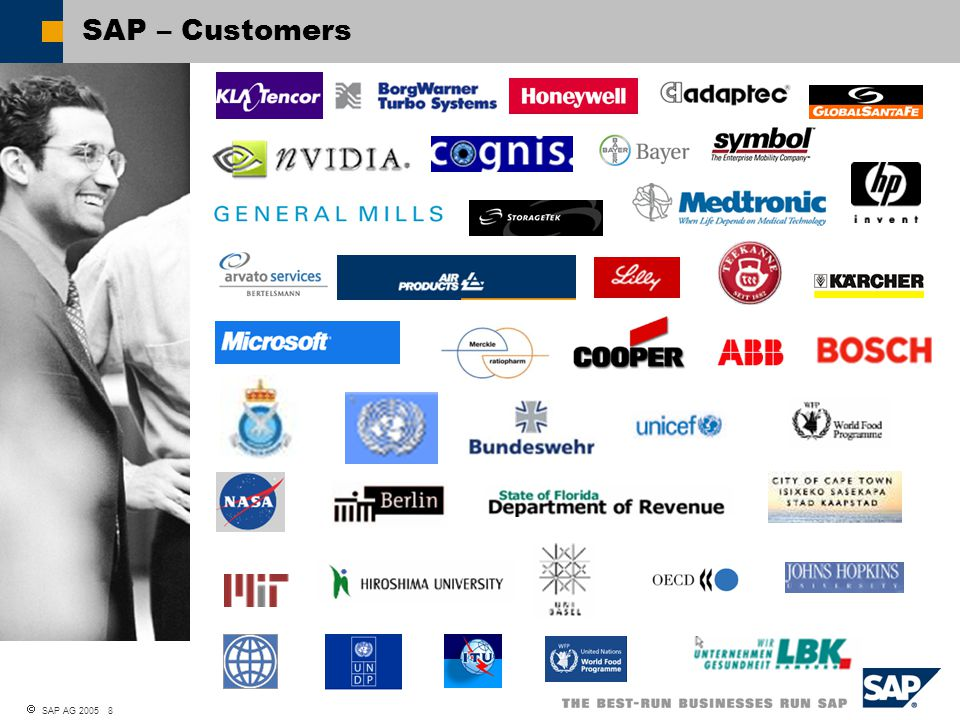  SAP AG 2005 8 SAP – Customers