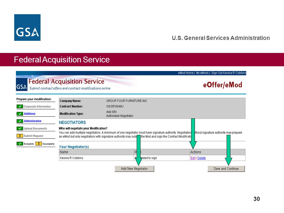 Federal Acquisition Service U.S. General Services Administration 30