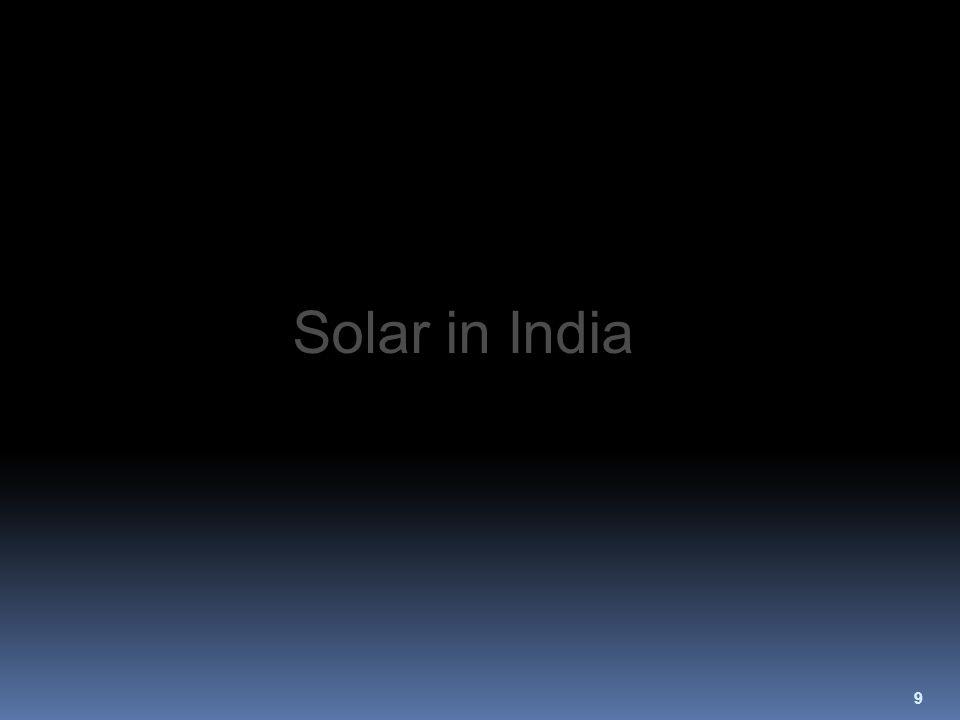 9 Solar in India
