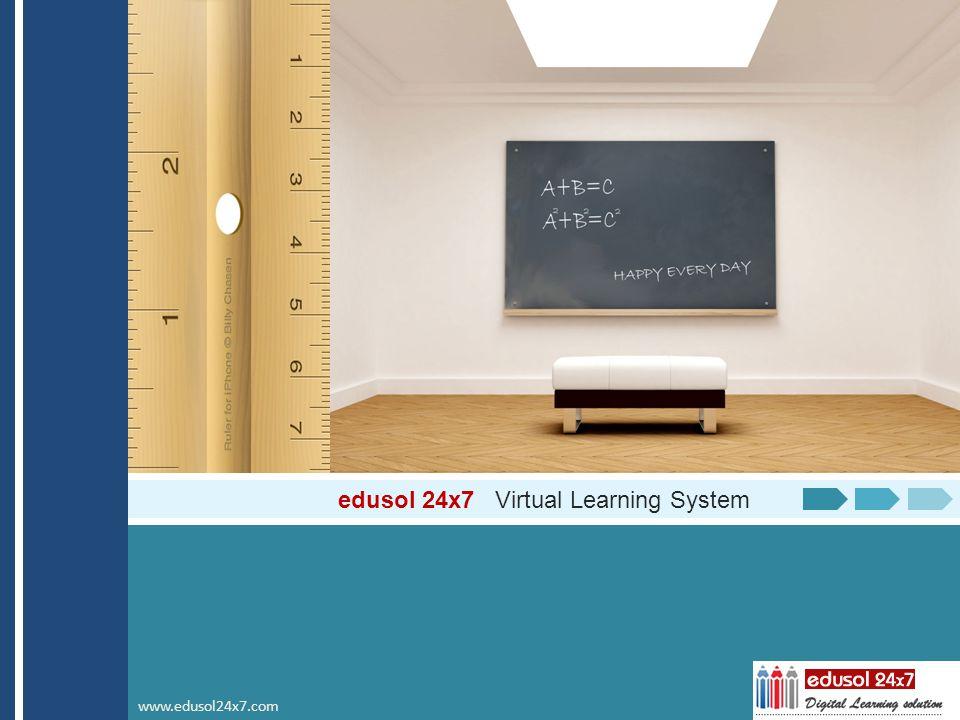 edusol 24x7 Virtual Learning System www.edusol24x7.com