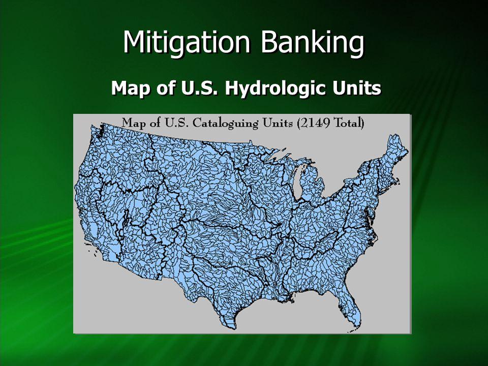 Map of U.S. Hydrologic Units