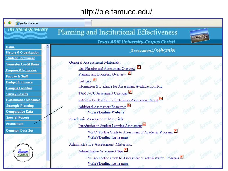http://pie.tamucc.edu/