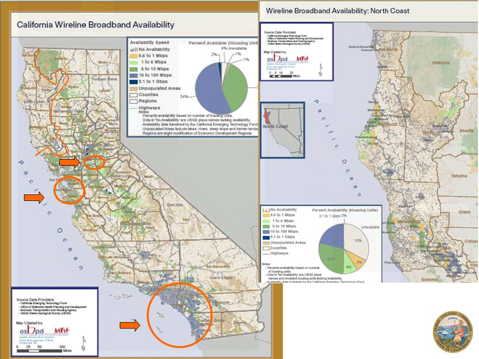 6 California Advanced Services Fund The CPUC determined that – in an era where broadband services had been growing in both breadth and download speed offerings – that market failure was occurring in unserved and underserved areas of the state CASF created to help address the problem and close the gap