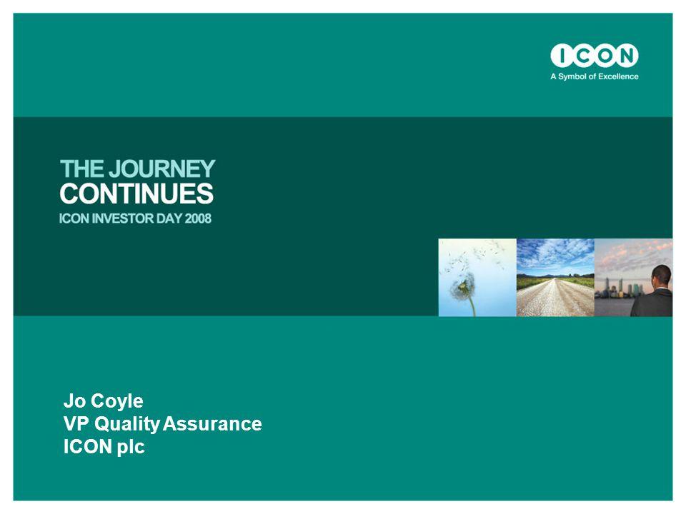 Jo Coyle VP Quality Assurance ICON plc