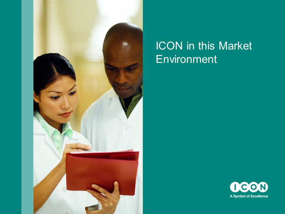 ICON in this Market Environment