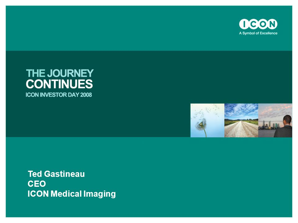 Ted Gastineau CEO ICON Medical Imaging
