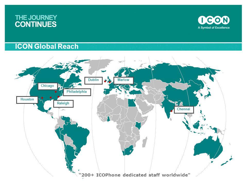 """200+ ICOPhone dedicated staff worldwide"