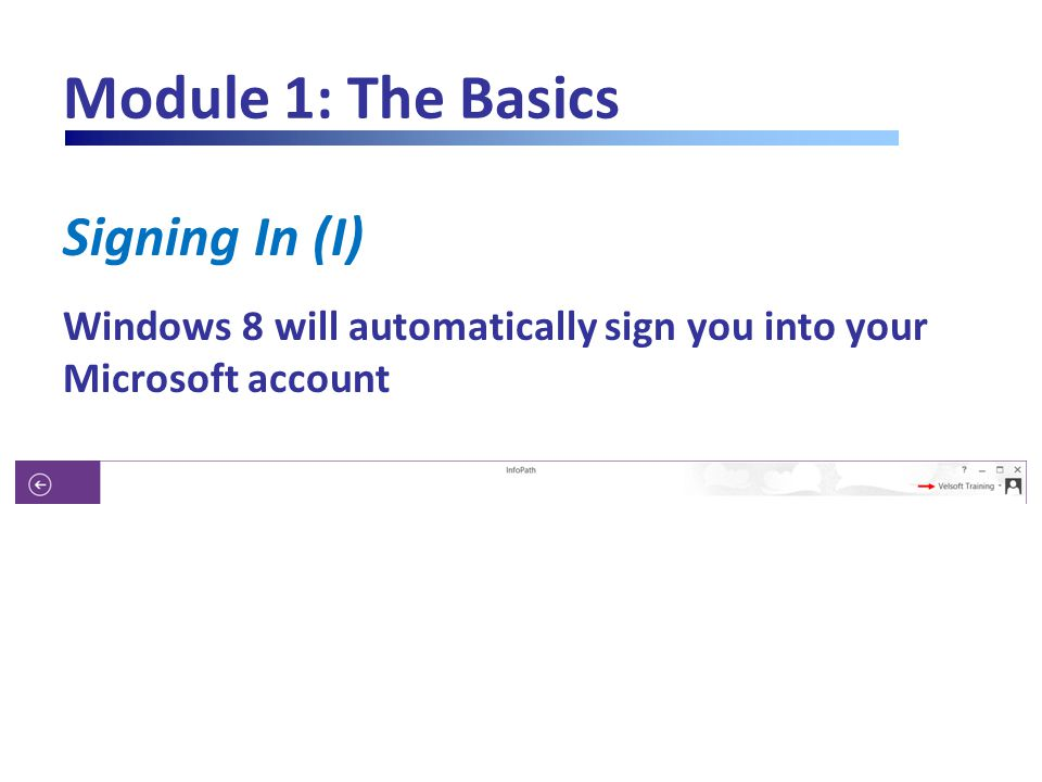 Module 7: Using Advanced Controls, Part Two Using Optional Controls (II) Click on the arrow button or link to activate